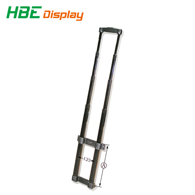 RDEXP 50CM Length Telescopic Luggage Telescopic Rod Handle Replacement Suitcase Spare Part Pull Out Handle Part