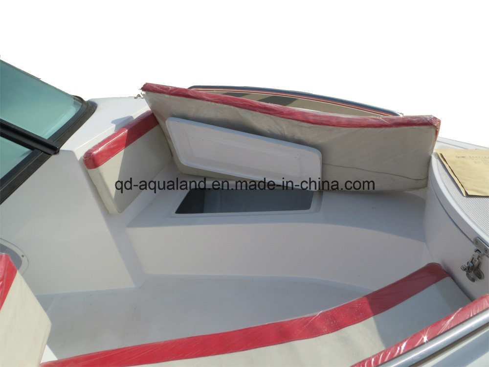 Aqualand 17feet 5.2m Fiberglass Speed Boat /Sports Fishing Boat (170) pictures & photos