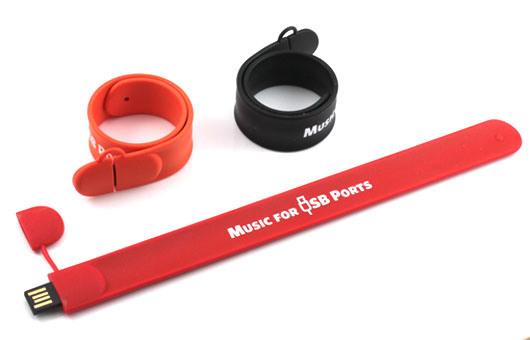 Slap Wristband Custom Usb Flash Drive U167 Wb06