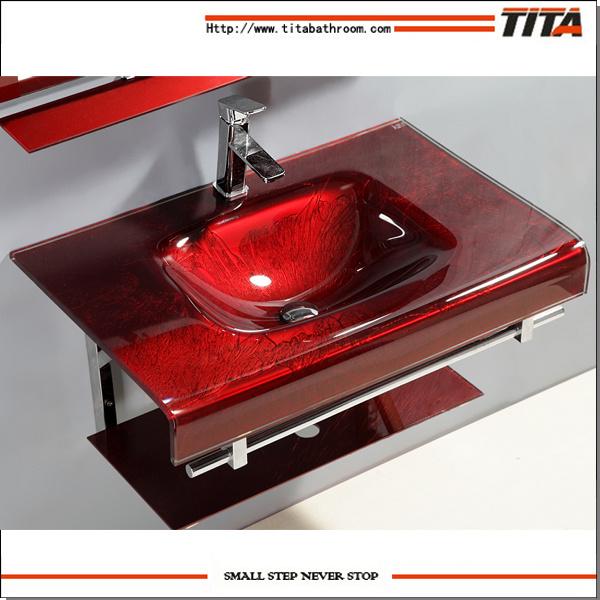 China Vanity Sink/Wash Basin Unit/Glass Sinks Bathroom T 12   China Vanity  Sink, Wash Basin Unit