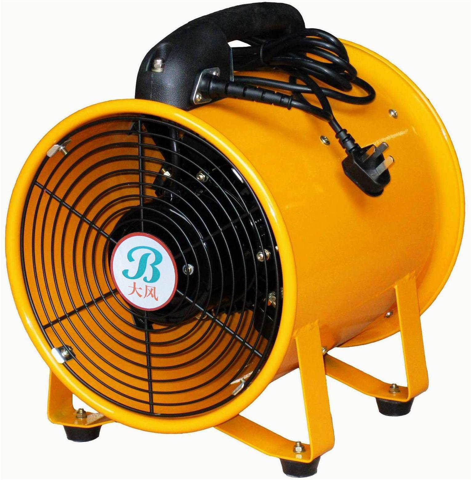 """China 250mm 10"""" 110 Volt Industrial Portable Exhaust Fan ..."""