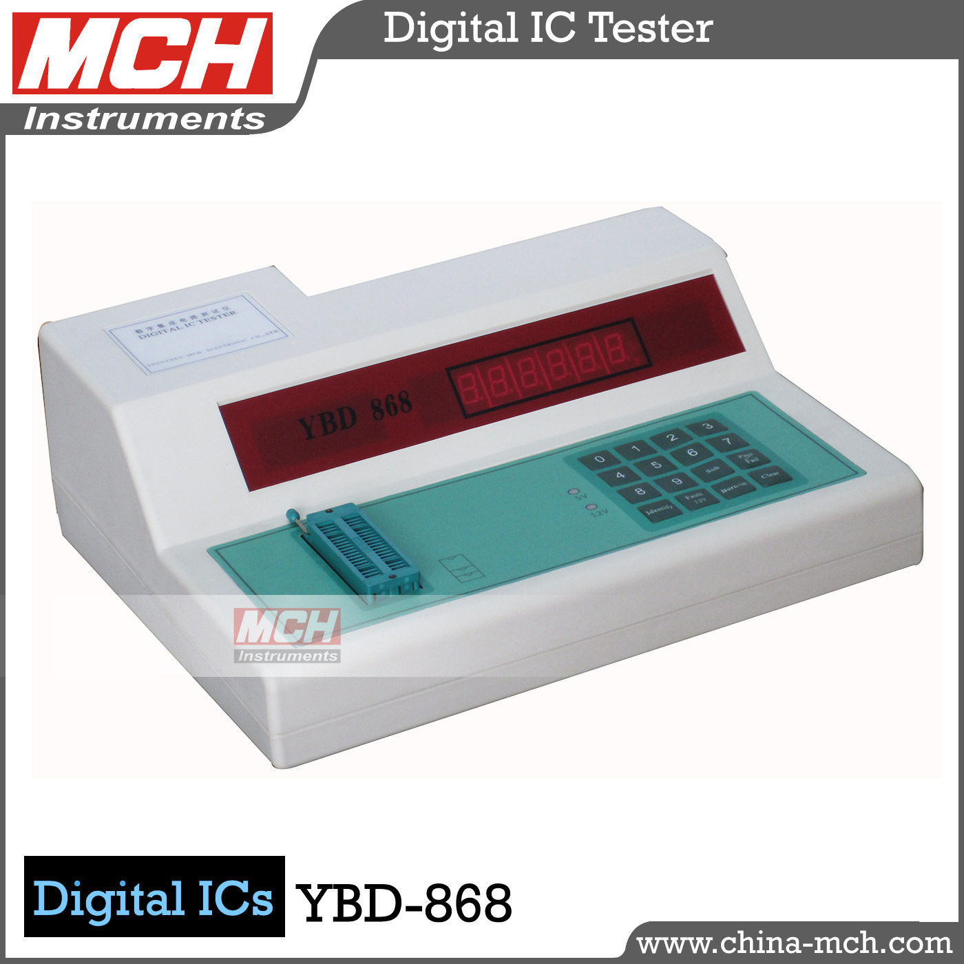 [Hot Item] 54-74 Series Digital Universal IC Tester (MCH YBD-868)