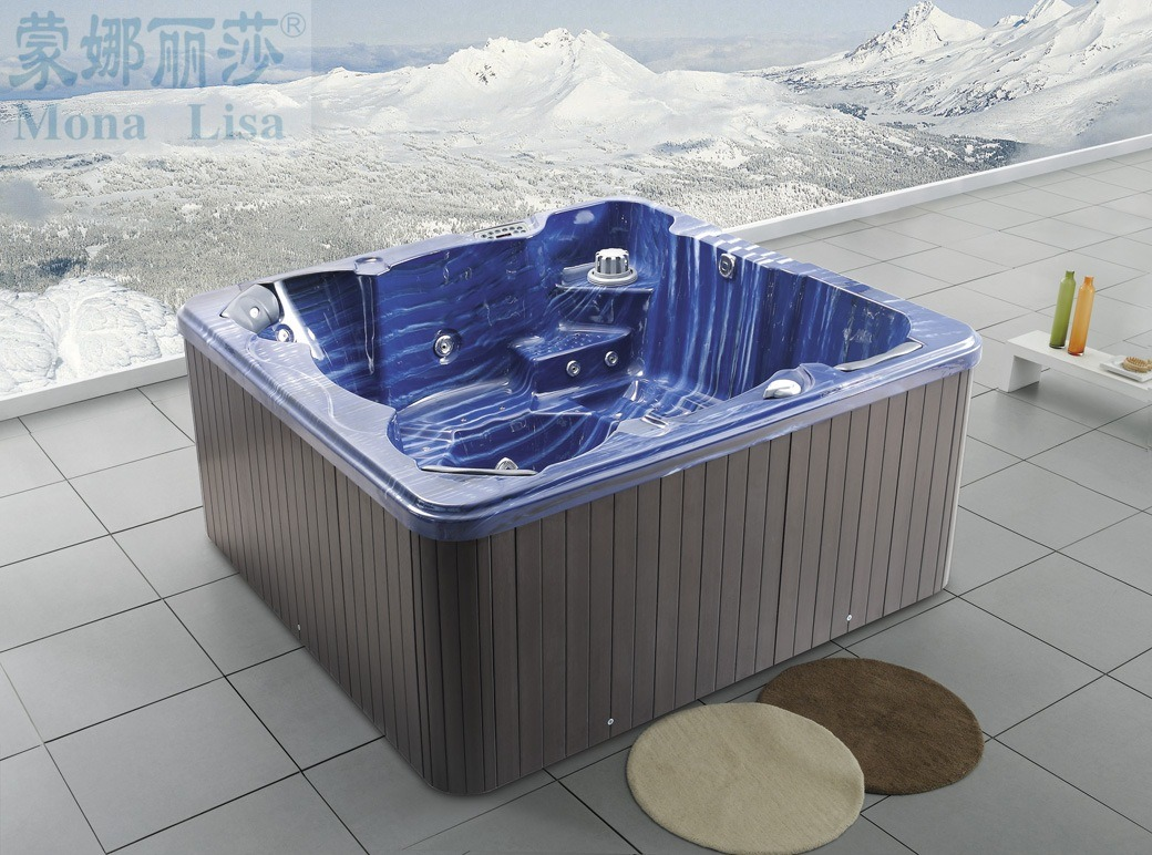 China 2017 Monalisa Outdoor Whirlpool Massage Hot Tub SPA (M-3315 ...