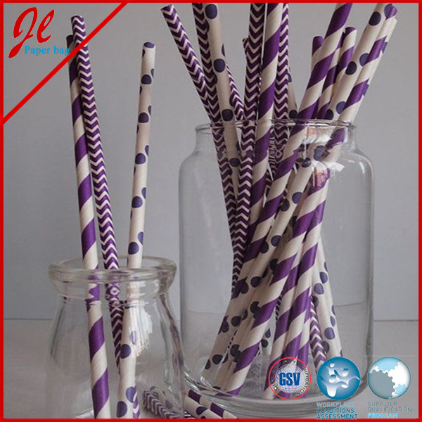 2015 Latest Paper Drinking Straws Flexible