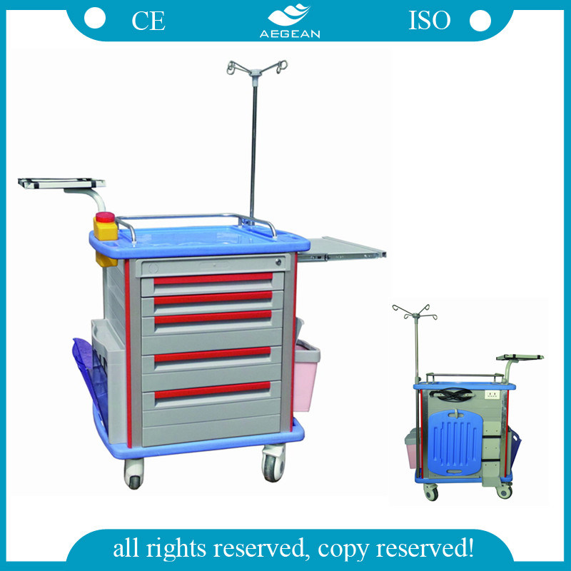 AG-Et001A1 Hot Sell ABS ISO&CE Medical Trolley