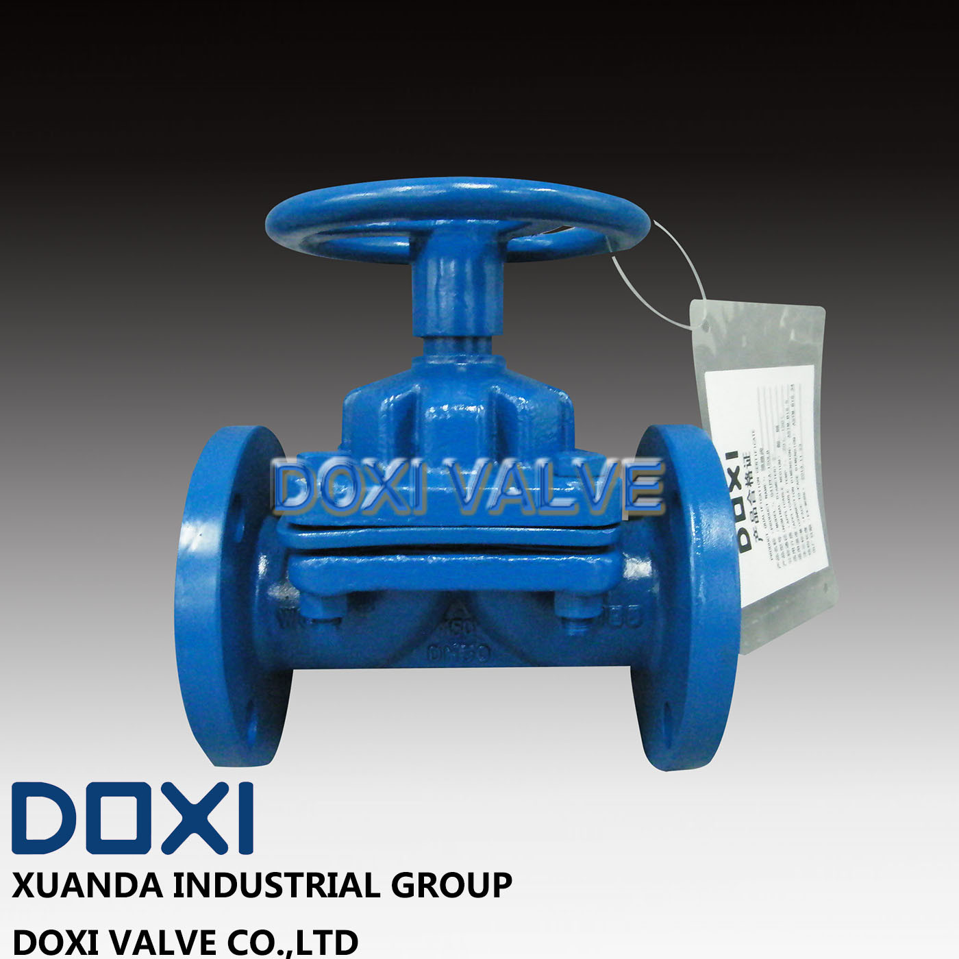 OEM Sulfuric Acid Industrial Diaphragm Valve pictures & photos