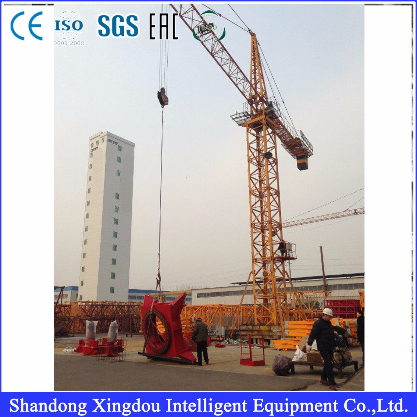 Customized Cane Tower Crane Construction Equipment Mast Crane