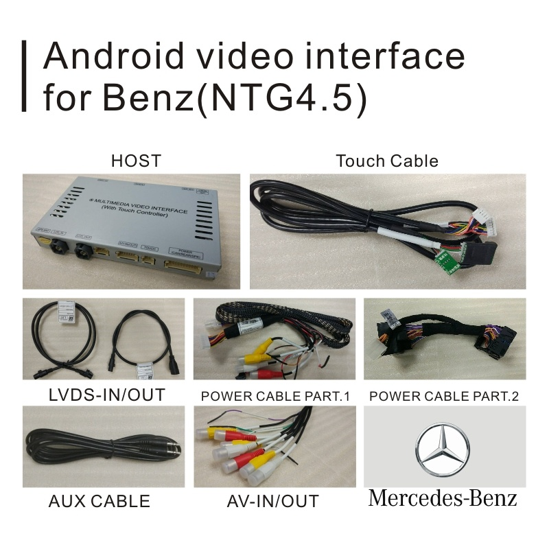 China Android GPS Navigation System for Mercedes Benz C Cla Clk B a