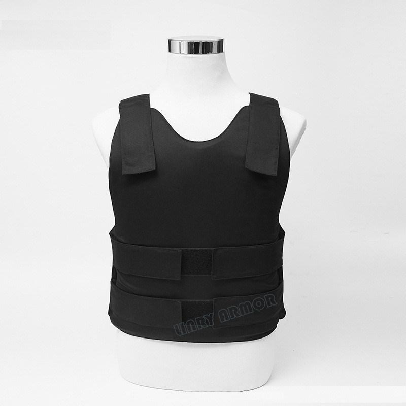 PE Bullet Proof Bulletproof Vest body armor coat NIJ level IIIA 3A L Stab