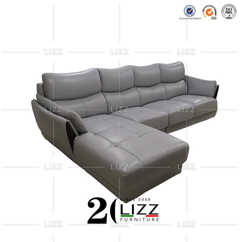 Genuine Leather Office Sofa Set
