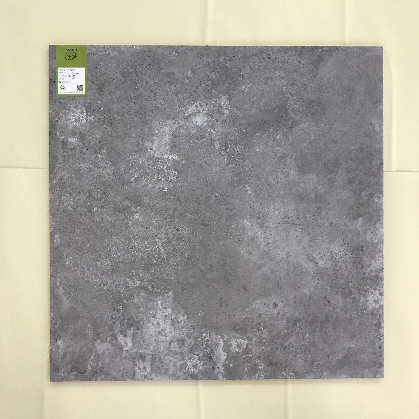 China Building Materials Floor Tile Interior Concrete Porcelain Tile