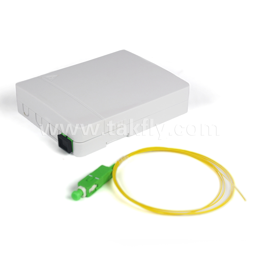 China 2 Cores Indoor Optical Outlet With Sm Sc Upc Adapter And Wiring Multiple Outlets Pigtail Fiber Optic Adaptor