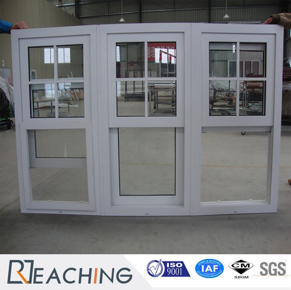 China UPVC Plastic with Steel Reinforce Sliding Window with Fixed ...