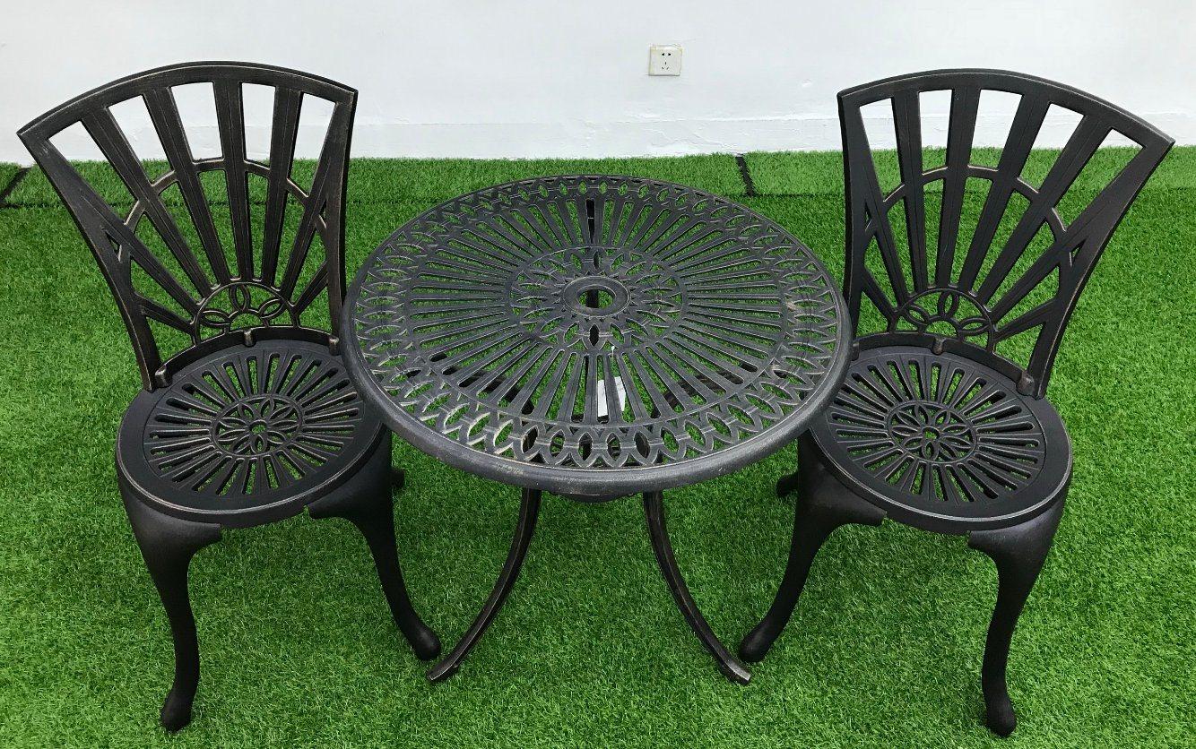 China Cast Aluminum Patio Tea Table Hotel Coffee Table Garden