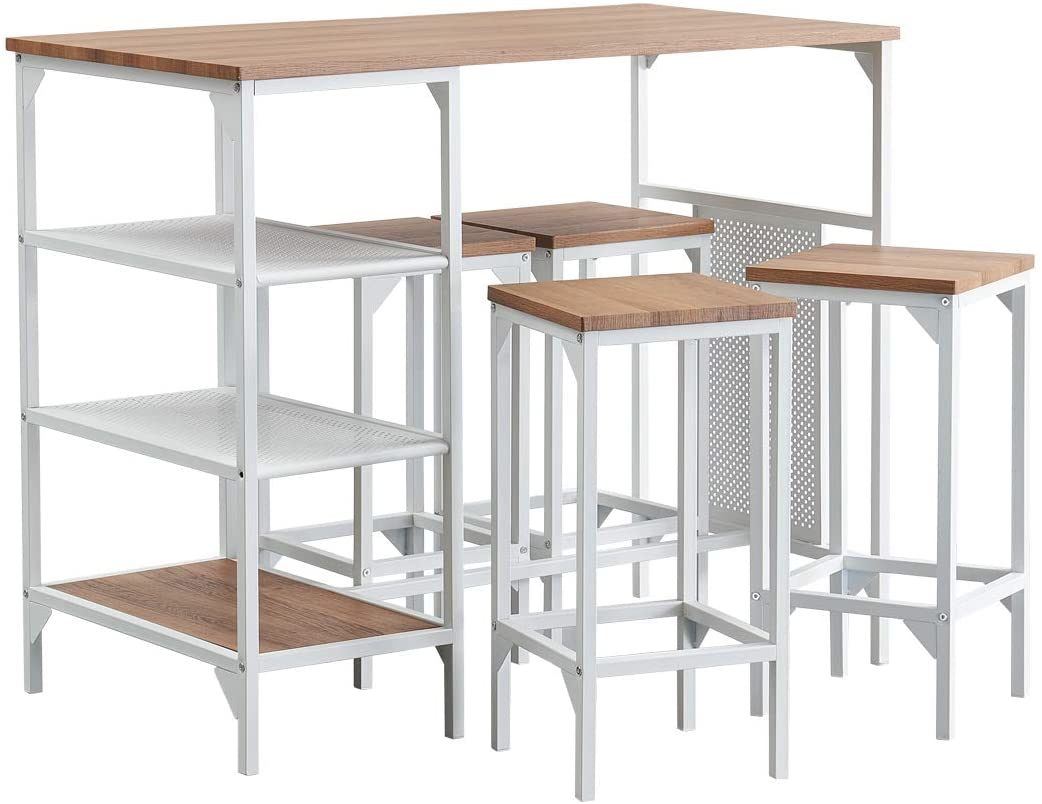China Dining Room Bar Table Set Modern Industrial Bistro Restaurant Dining Table And Stool Set Home Kitchen Furniture China Dining Table Set Dining Table
