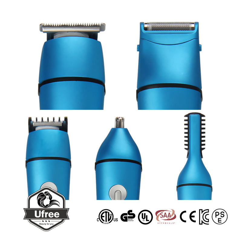 China Electric Rechargeable Hair Clipper Trimmer Set Haircut Kit For