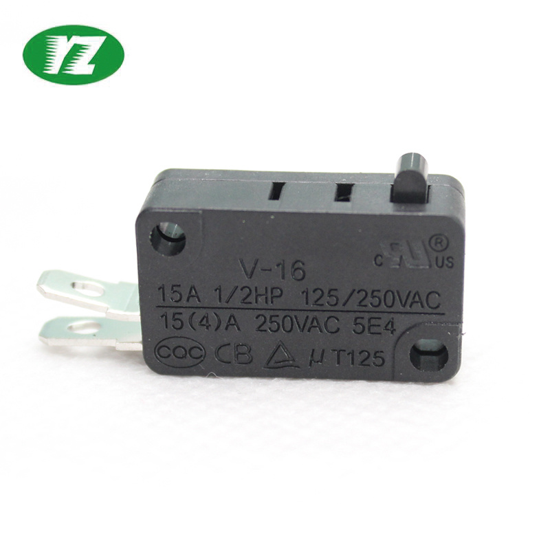 China Yz Miniature Msw 2 Pin Spst Micro Switch China Electric Micro Switch Push Button Electric Micro Switch