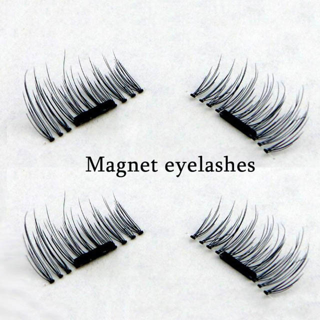 571659ed495 China 4 PCS/Pair 3D Magnetic False Fake Eyelashes Extension Eye Beauty  Makeup Accessories Soft Hair False Eyelashes Dropship - China Magnetic  Eyelash, Best ...
