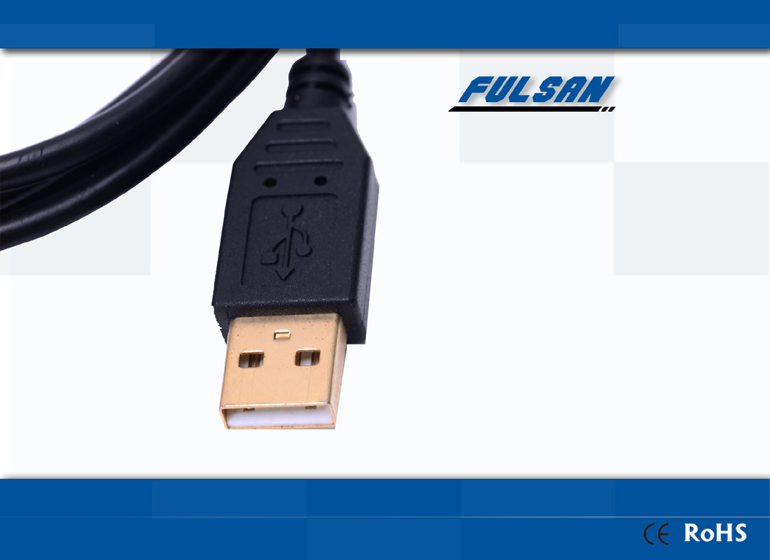 Short USB Cable Male to Male USB2.0 Data Link Cable pictures & photos
