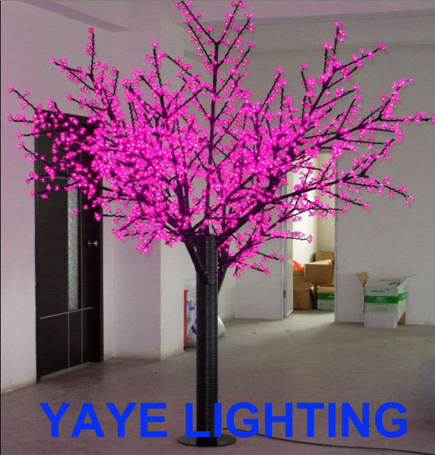 Yaye Top Sell LED Cherry Tree Light/LED Blossom Cherry Tree Light / LED Cherry Blossom Tree Light with CE RoHS