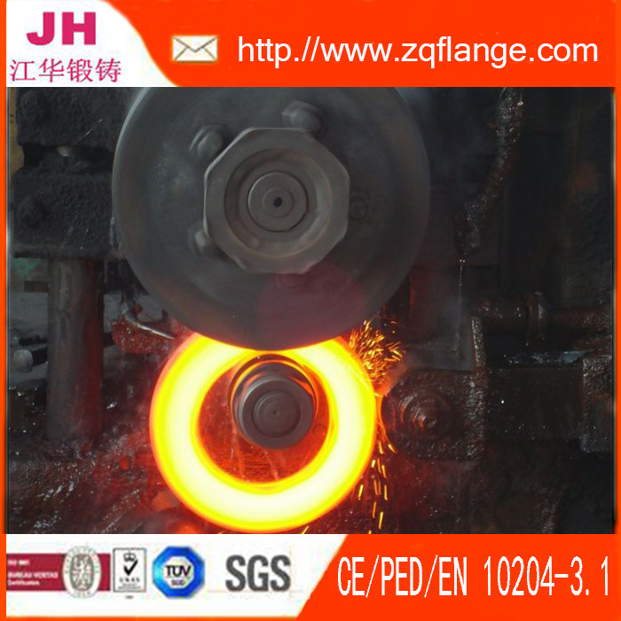 Carbon Steel of Electroplating Zinc Socket Welding Flange pictures & photos