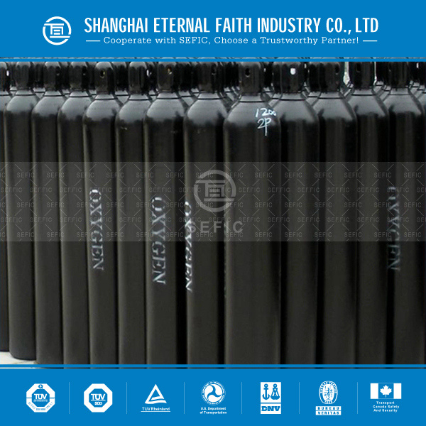 Seamless Steel Industrial Welding Oxygen Cylinder (EN ISO9809-1) pictures & photos