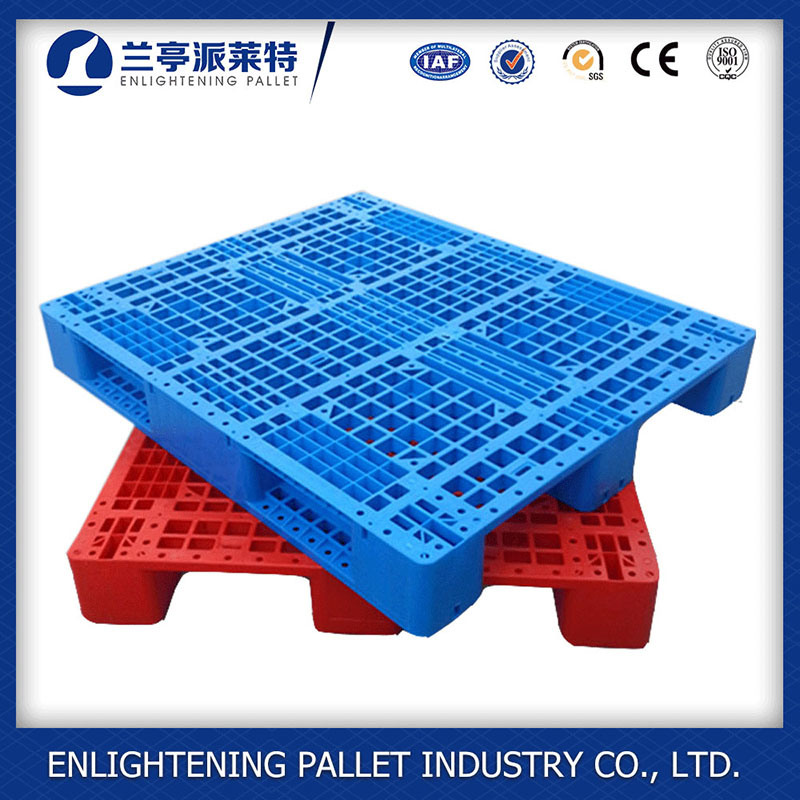 China 1210 Standard Size PE Plastic Pallet For Sale