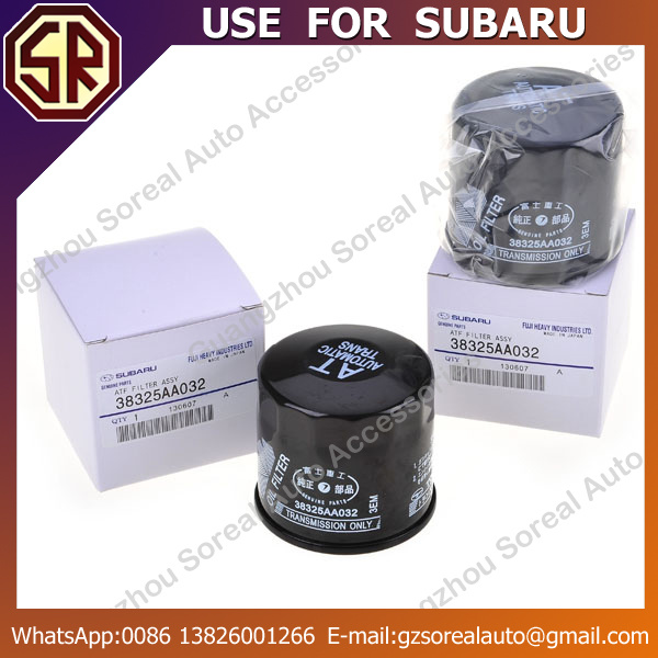 High Performance Auto Oil Filter 38325-AA032 for Subaru