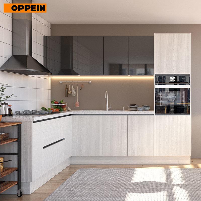 China Oppein Modular Kitchen Cabinets Type Kitchen Set With Discount Price China Kitchen Cabinets Modular Kitchen Cabinets