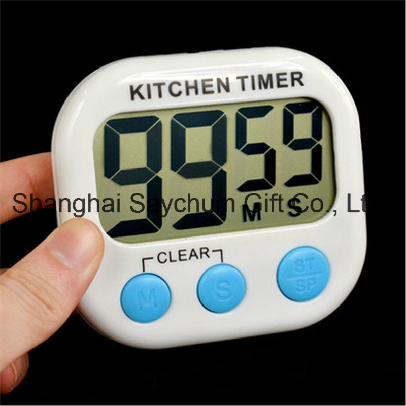 China Magnetic LCD Digital Kitchen Countdown Timer Alarm with Stand ...