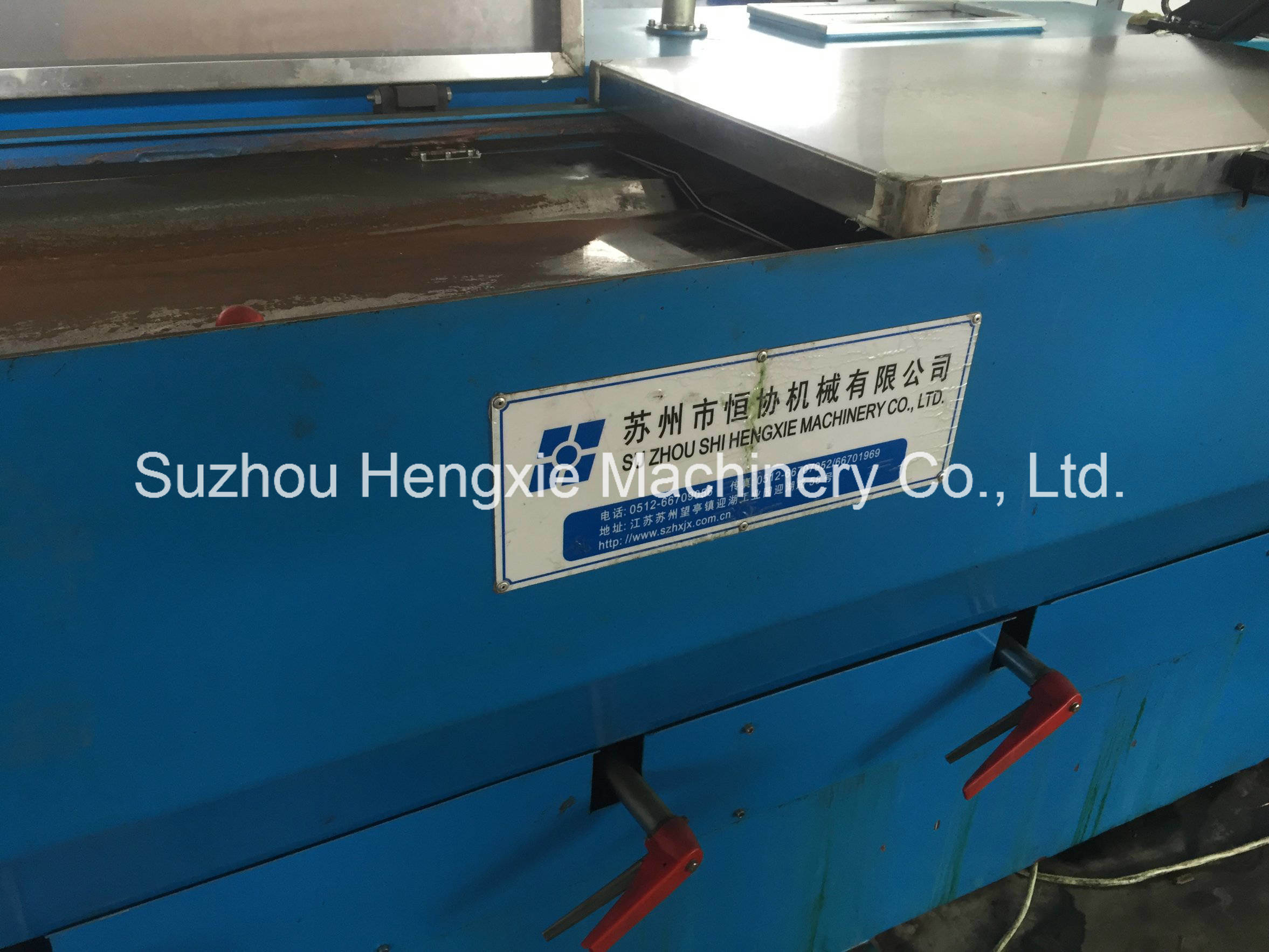 China Hxe-17ds Gear Type Intermediate Copper Wire Drawing Machine ...
