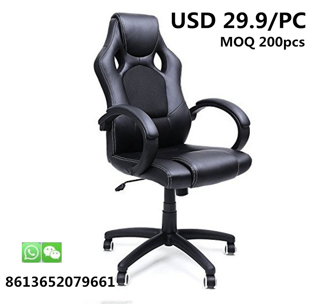 Hot Item Wholesale Headrest Leather Computer Office Reclining Racing Gamer Gaming Chair