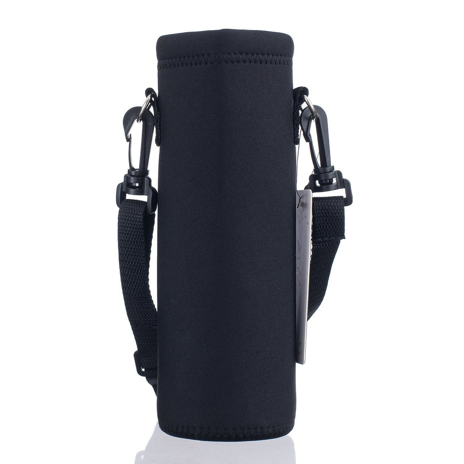 Insulated Water Bottle Holder with Strap