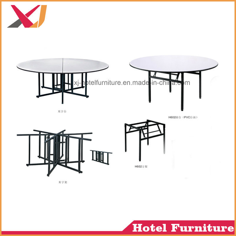Foshan Wholesale Cheap Used Banquet Tables Round Folding For Hotel