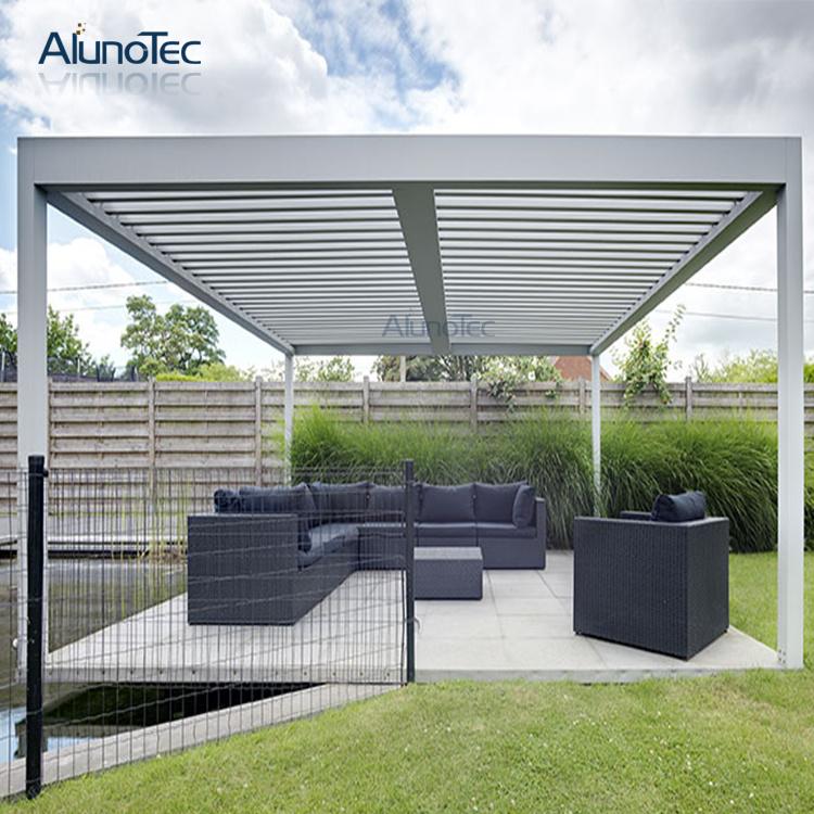 Outdoor Aluminum Frame Gazebo