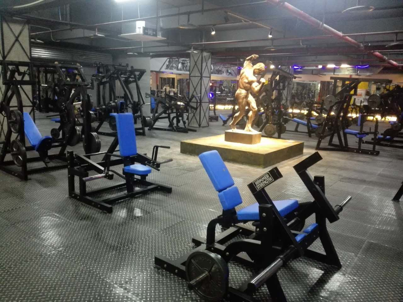 China gym equipment names commercial machine multi functional