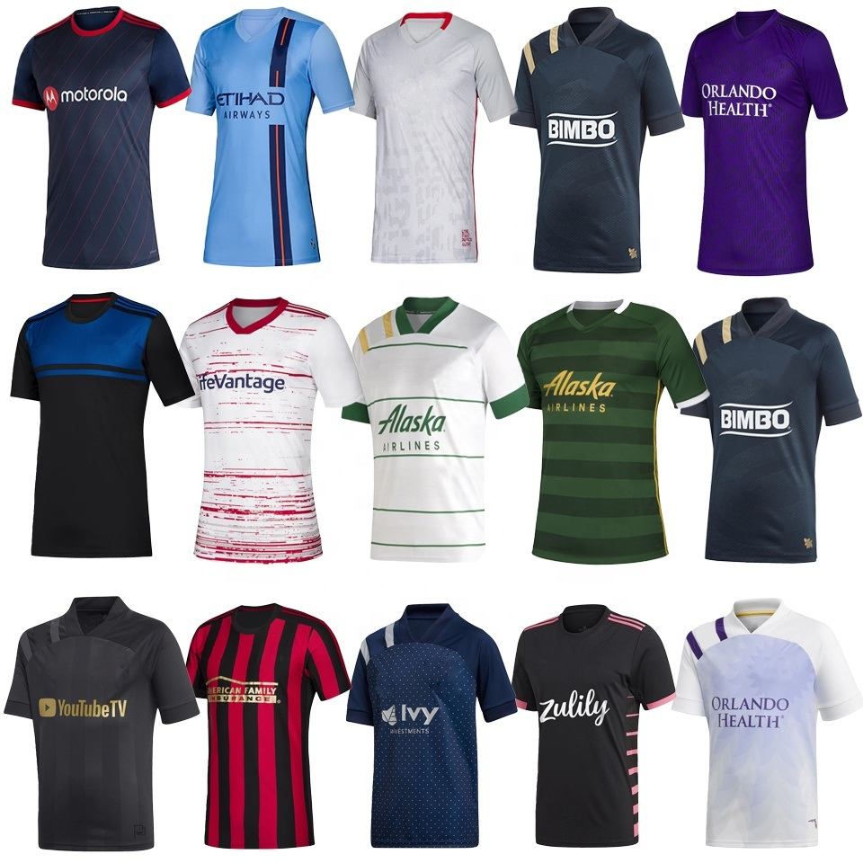 China New 2020 2021 Cheap Mls Jersey Home Away Men Custom Soccer Jersey Uniforms Football Shirt China Thai Quality Football Shirt Maker Soccer Jersey And Grace Football Shirt Maker Soccer Jersey Price