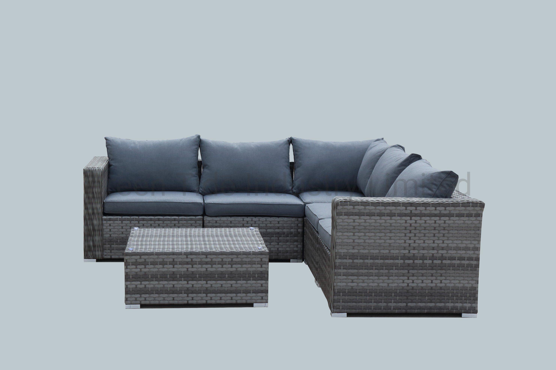 Hot Sale Outdoor Garden Furniture Rattan Furniture Wicker Rattan Sofa Set