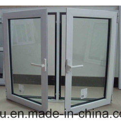 Aluminium Casement Window with Mosiquote Net, UPVC Window for Building pictures & photos