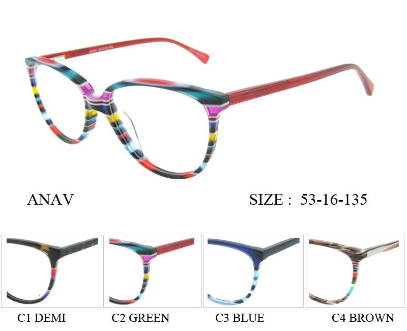 China High Quality Glasses Girls Top Eyewear Optical Glasses Frame ...