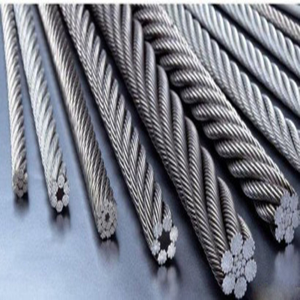 China Round Strand Stainless Steel Wire Rope Wire Line - China Steel ...