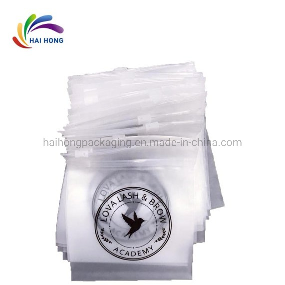 Custom Transparent PVC Slider Zip Lock Bags Zipper Packaging Bag for Garment pictures & photos