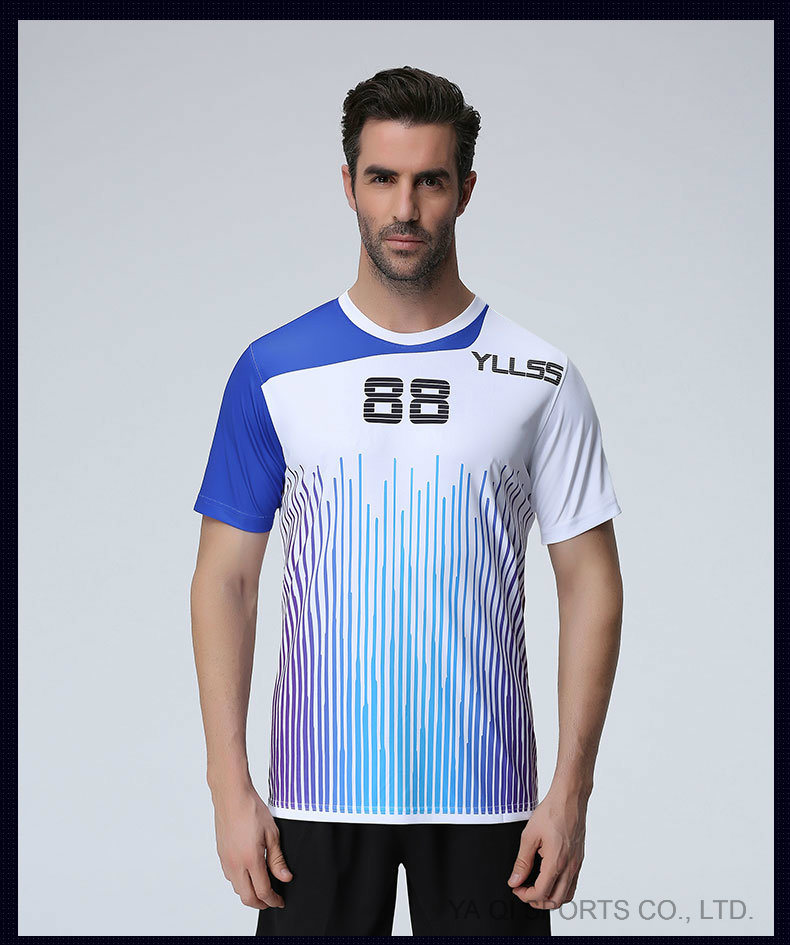 e8874287 China Sports Jersey New Model Wholesale 100% Polyester Mesh Sublimation Printing  Custom T Shirt Soccer Jersey - China Soccer Uniforms, Soccer Jersey