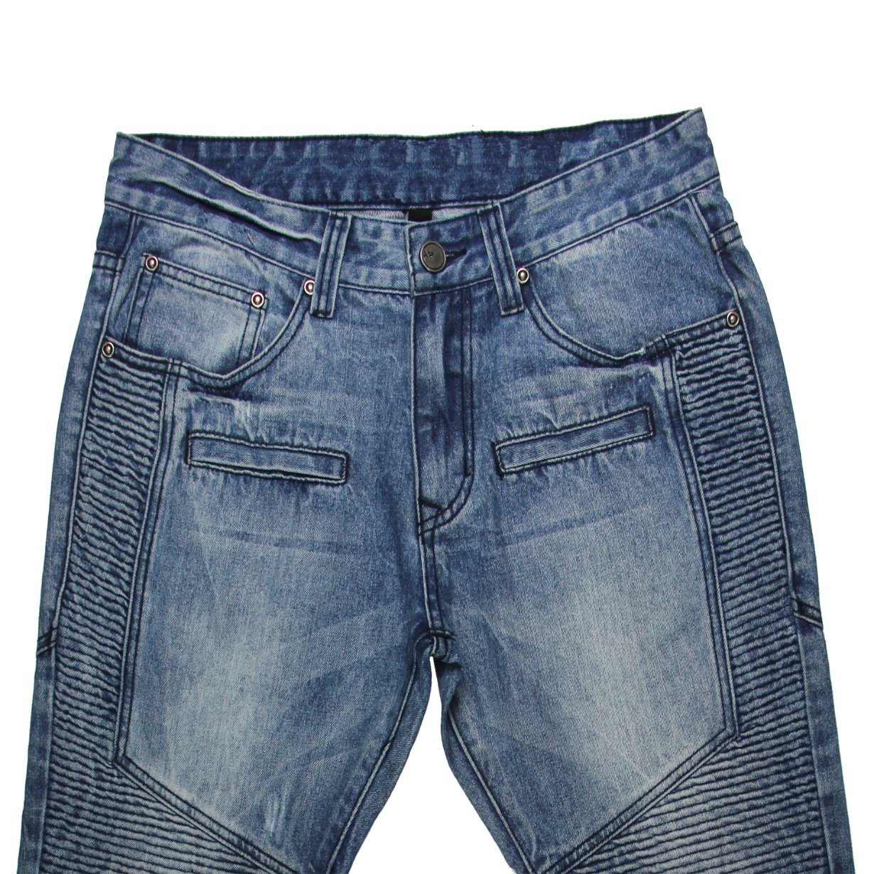 High Quality Men′s Smock Jeans (MYX15) pictures & photos