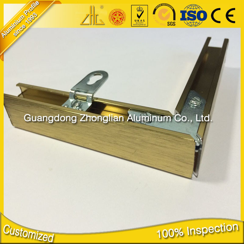 6063 T5 Aluminium Extrusion Wholesalers Aluminum Frame for Pictures pictures & photos