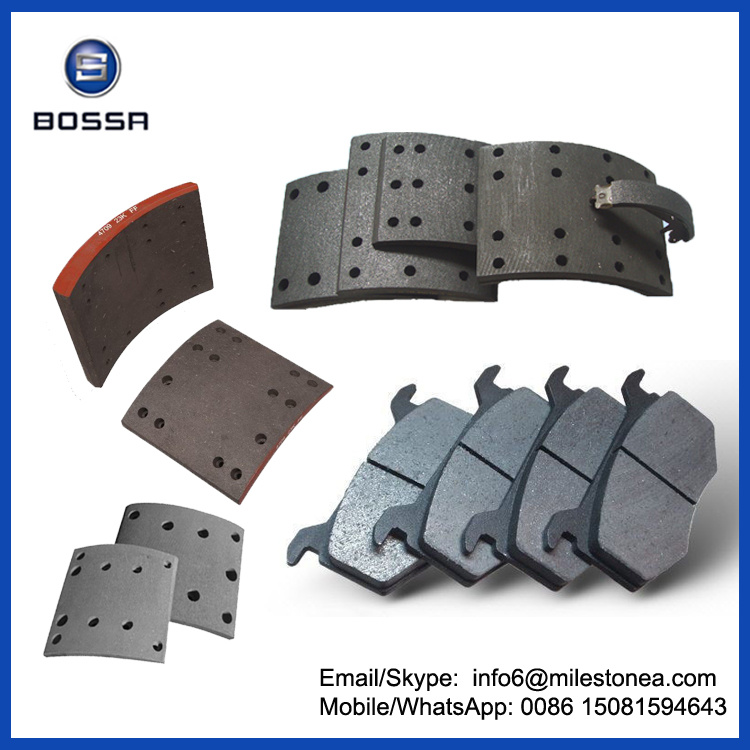 Wholesale Trailer Brake Lining 4515 Used Brake Parts pictures & photos
