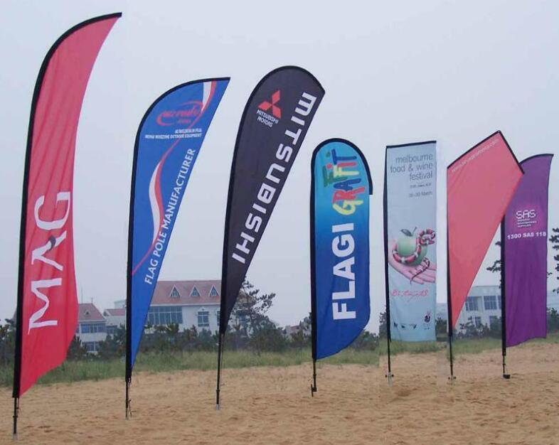 High Quality Outdoor Advertising Feather Flag Custom Beach Feather Flag Flying Banner Feather Flag Pole pictures & photos