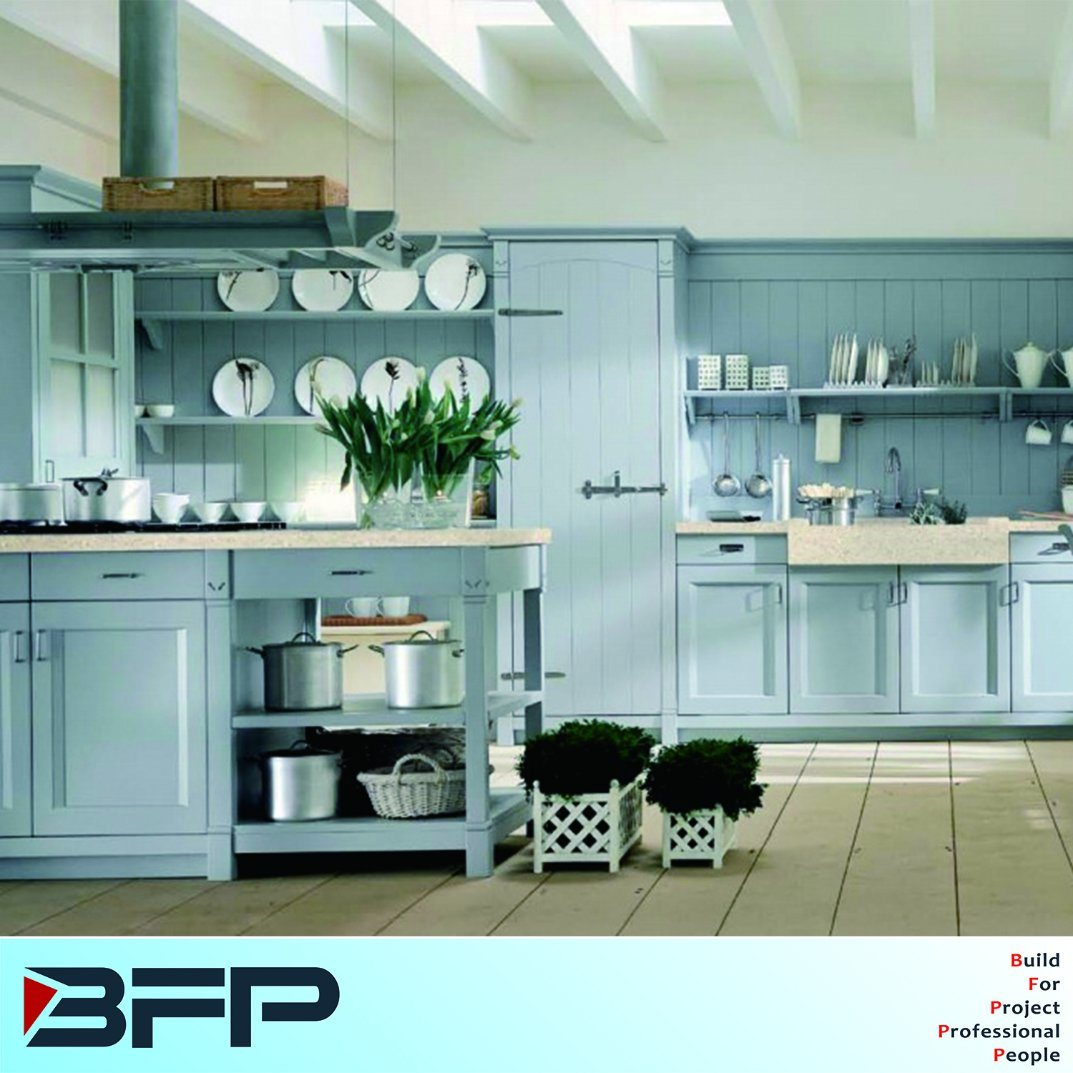 China Waterproof PVC Vinyl Kitchen Cabinet Photos & Pictures - Made ...