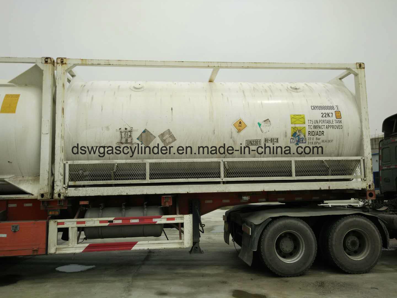 China Asme Certified 50ton Nitrous Oxide Iso Tank Photos Pictures