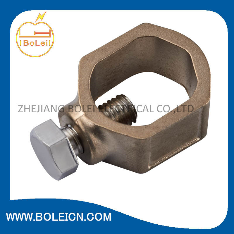 Bronze Ground Clamp for Bonding Bare Copper Wire to Water Pipe pictures & photos
